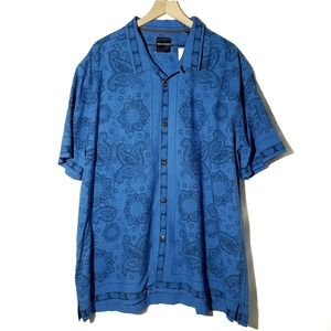 Tommy Bahama || Silk Blend Paisley Button Down